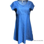 Womenswear category image showing a blue dress on dummy by jumping ships