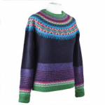 Womenswear eribe luxury knitwear jumper multi coloured
