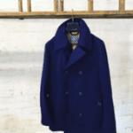 british made menswear category image showingblackshore blue coat