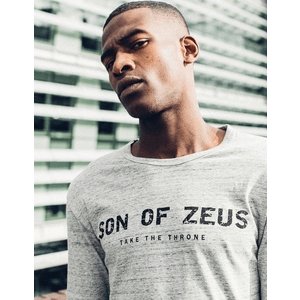 british made menswear category image showing a man wearing son of zeus