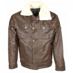 mens clothing made in britain, category image showingoxford blue brown flying jacket