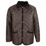 mens clothes made in britain, category image showing oxford blue quilted jacket