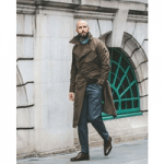 mens clothing made in uk showing private white man in street category image