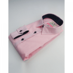 mens clothing made in britain, category image showing wolf in sheeps clothing pink shirt