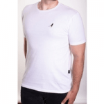 british ethical menswear, raven rock white t shirt