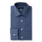 british menswear category image emma willis folded blue shirt