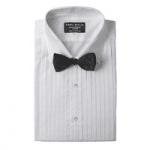 british menswear, emma willis white dinner shirt bow tie