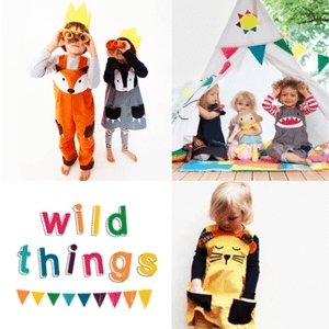 british childrenswear, wild things clothing, childrens dress up outfits