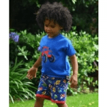 british childrens clothing category image showing a black boy in roundabout kids clothes