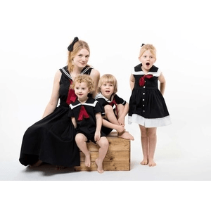 british childrens clothing category image showing mum and children wearing childrenswear