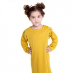 lola starr childrenswear girl in yellow dress