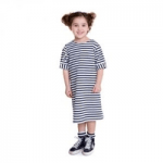 lola starr childrenswear girl wearing a striped dress