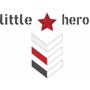 little hero kids clothing miltary logo