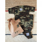 little hero kids clothes army pj set