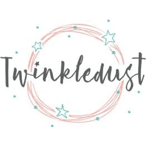 twinkledust childrenswear logo with stars