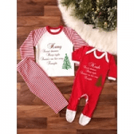 all about the bump british childrenswear christmas pyjamas for toddlers