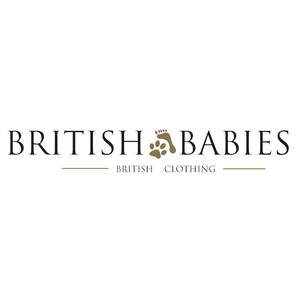 british babies british clothing logo image text