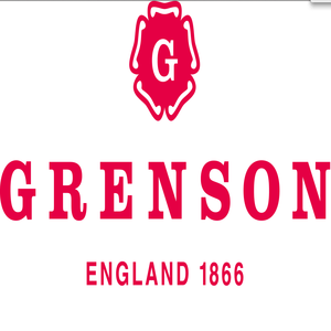 british footwear brands category image showing grenson engalnd text logo