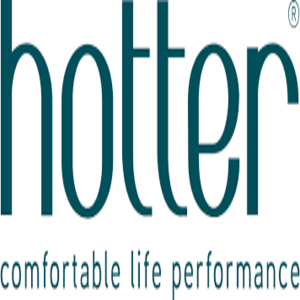 british footwear brands category image showing the hotter shoes text green logo