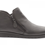 british made monens shoes category image showing a padders grey zip up boot