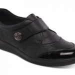 british made womens shoes category image showing a padders womens black shoe shiny toe
