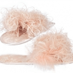 pink deeasjer fluffy slippers