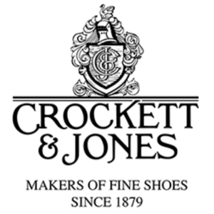 british footwear brands category image showing crockett and jones makers of fine shoes logo