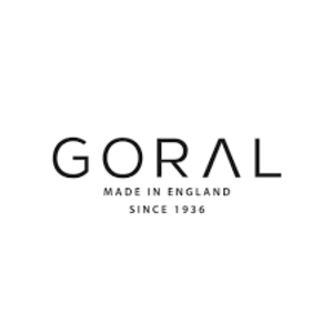 mens shoes made in uk category image showing goral shoes made in england logo