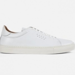 british made mens shoes category image showing a white trainer by goral shoes