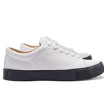 mens shoes made in britain category image showing a pair of white mens trainers by crown shoes northampton