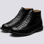 grenson black high boots