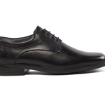 mens shoes made in uk category image showing a padders black comfort shoe
