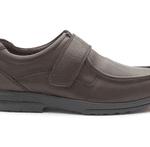padders brown slip on comfort shoe