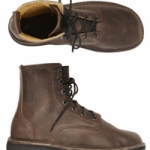green shoes ethical brown high boot