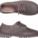 uk mens shoe brands category image showing a pair of ethical handmade brown shoes by green shoes