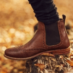 chatham marine country boots brown