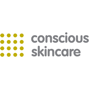 organic beauty products, category image showing conscious skincare logo