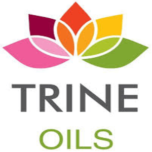 british beauty products trine oils logo
