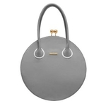 british designer handbags, category image showing a grey isabella queen handbag on white background