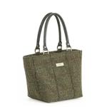 british designer handbags, category image showing a tweed shopper bag by umpie