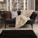 wildash london soft furnishings luxury throw over sofa