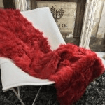 british made furniture, category image showing wildash furnishings luxury red throw