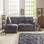 furniture manufacturers in the uk category image showing a living room corner sofa