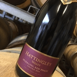 british made wine category image showing a bottle of hattingley valley wine red label