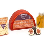 croome cuisine figs cheese and honey selection