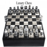 giftware made in britain category page showing luxury chess board by geoffrey parker