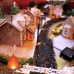 giftware made in great britain category image showing a train set scene