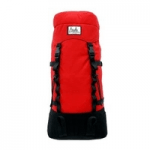 british made sports and outdoor equipment category image showing a red large rucksack made by aguille