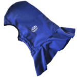 british made sports and outdoor equipment catehory image showing a blue waterproof balaclava