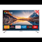 british technology category image showing a cello 75 inch tv